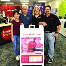 PostNet employees Melora Alvarado, Melchor Chavez, Annette Chavez-Alvarado and Mike Alvarado. Courtesy photo.