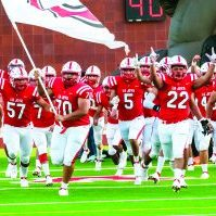 The La Joya Coyotes will be looking to win their second game in a row tonight as they take on the Mission Eagles at LJISD Stadium. Progress Times photo by Luciano Guerra