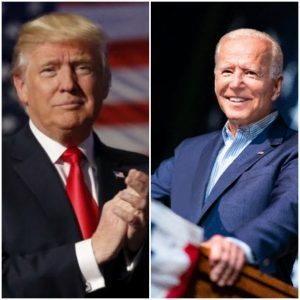 President Donald J. Trump and former Vice President Joe Biden