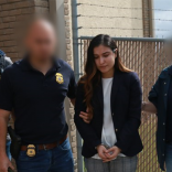 Cynthia Alanis, 28, of Weslaco after her arrest in 2020. (Photo courtesy of U.S. Immigration and Customs Enforcement.)
