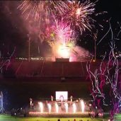: A screenshot of the fireworks display over the La Joya ISD Stadium last Friday in celebration of the new board of Trustees. Photo courtesy of La Joya ISD Facebook.