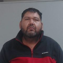 Former city of Mission Public Works employee Jose Angel Santos Jr., 35, of La Joya is charged with driving while intoxicated, a Class A misdemeanor. (Photo courtesy of the Hidalgo County Sheriff's Office.)