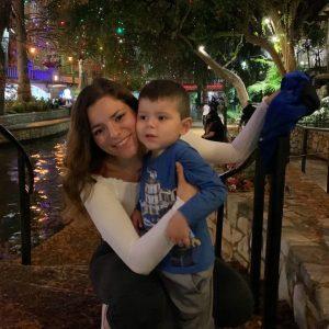 Kayla Lynn Alvarado and her son, Kion. Courtesy image