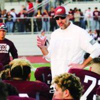 Mission High School Head Football Coach Koy Detmer.