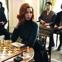 Anya Taylor-Joy in The Queen's Gambit.