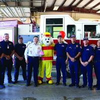 Sparky and Fire Dept