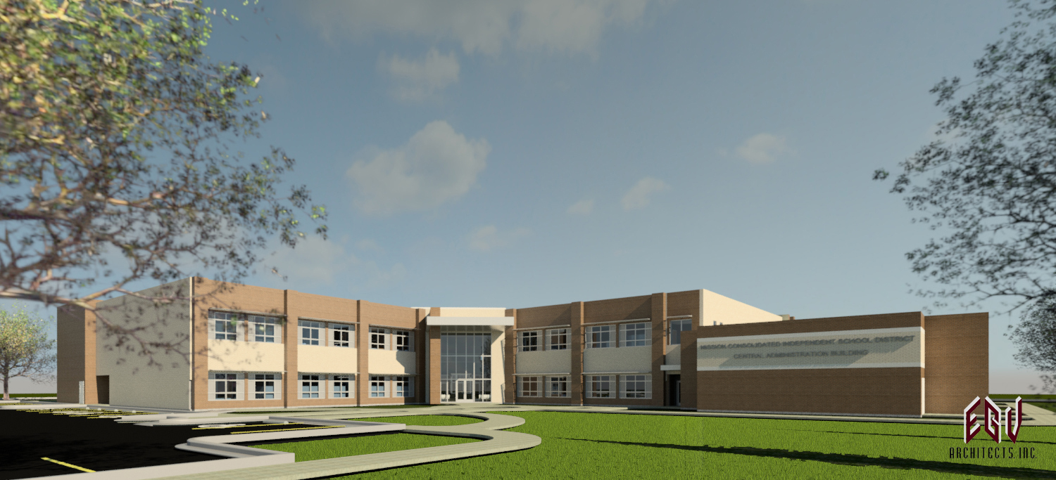 20161007 WEB MCISD Central Office Rendering 08 16 2016